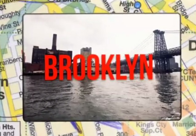 Red Maps Brooklyn feat. Ginjoint