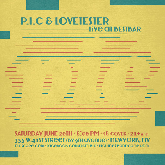 P.I.C & Lovetester at BestBar